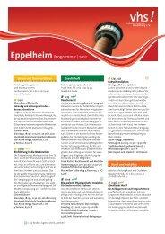 Eppelheim - Volkshochschule Heidelberg