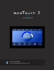 Spatouch3 SP3 användarmanual