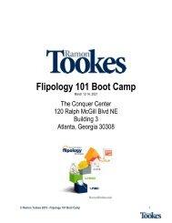 Flipology 101 Workbook