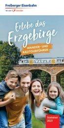 Erlebe das Erzgebirge – Wander- und Radtourführer Sommer 2021