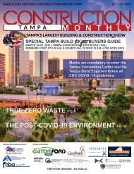 Construction Monthly Magazine | Tampa Build Expo Show Edition