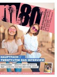 m80 Magazin März 21