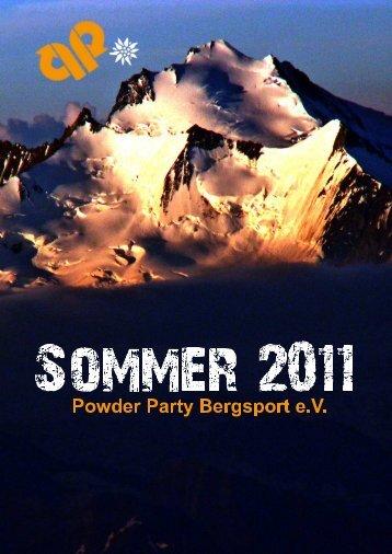 hier - Powder Party Bergsport Karlsruhe eV