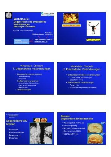 Vorlesung 06.pdf - Schulthess Klinik
