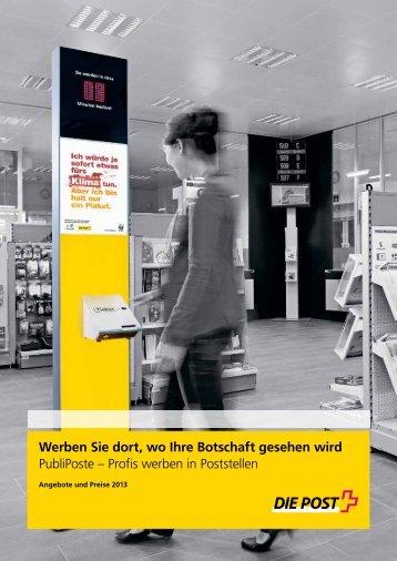Tarife - Die Schweizerische Post