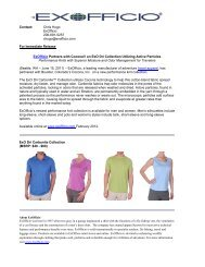 ExOfficio Spring 2012 Press Kit