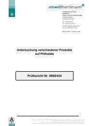 prüfbericht nr: 0908/434 zum download - Plastic Planet