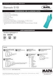 Stansolv 519 Mapa Datenblatt | IAB Reinraum-Produkte
