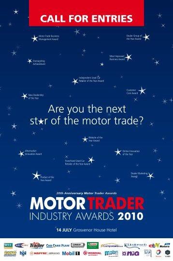 MOTORTRADER MOTOR TRADER - Motor Trader Awards