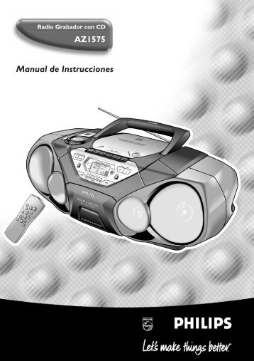 Manual de Instrucciones - Philips