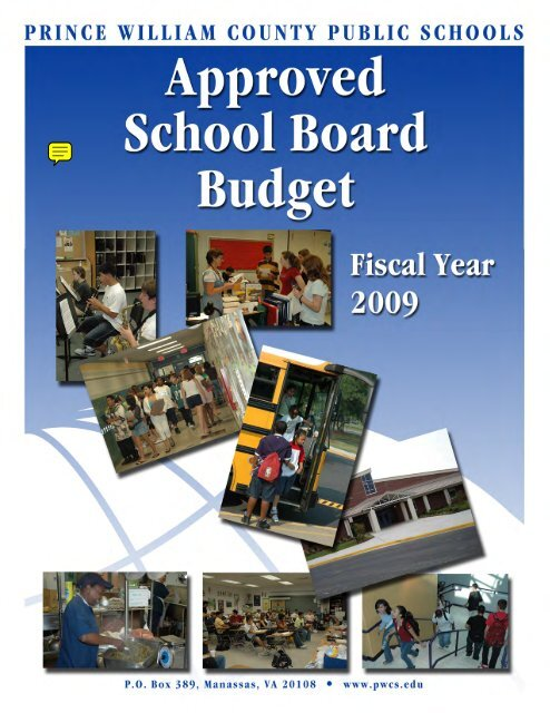 FY2009 Approved Budget - Prince William County Public Schools