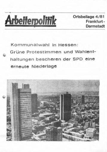 6 - der Gruppe Arbeiterpolitik