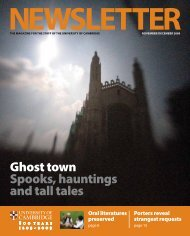 Ghost town Spooks, hauntings and tall tales - the University Offices ...