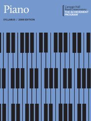 Piano Syllabus, 2011 Online Publication - The Achievement Program