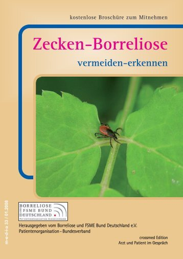 Zecken - Borreliose - FSME ...vermeiden - erkennen - bei Crossmed