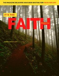 It's The Faith Magazine March 13 2021 Issue