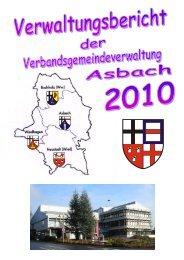 Verkehrsrechtliche Anordnungen - Verbandsgemeinde Asbach