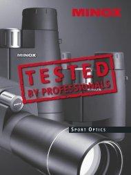 MINOX Sport Optics Testimonials (english) 12-2004