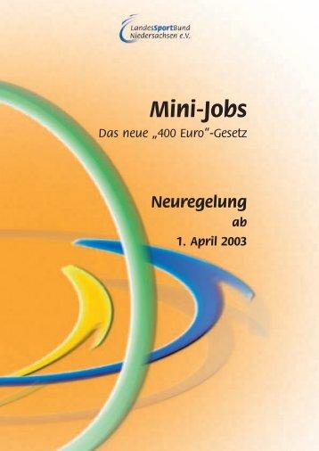 L ohnkonto für Mini-Jobs Jahr - SportOn.de