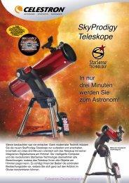 SkyProdigy Teleskope - Celestron-Deutschland.de