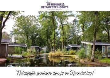 Brochure vakantiehuizen De Rimboe & Woeste Hoogte