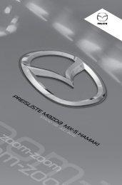 Preisliste Mazda MX-5 Hamaki ansehen