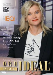 Isabella Herzig EQ Emotionale Intelligenz April 2021 Orhideal IMAGE Magazin