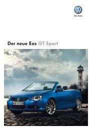 Der neue Eos GT Sport - Tauwald Automobile