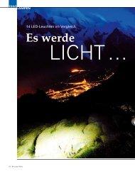 Zauber der Nacht - waridi Sport-Lights