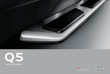 Audi Q5 Zubehör