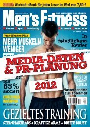 Men´s Fitness Mediadaten 2012 - adamsz Marketing GmbH