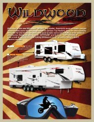 2011 Wildwood Sport Brochure - Family RV Center