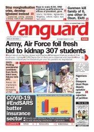 15032021 - Army, Air Force foil fresh bid to kidnap 307 students