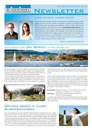 Oktober- Dezember 2010 - Optiker Blickwinkel Richterswil