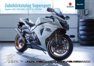 Zubehörkatalog Supersport - Suzuki