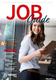 TRENDYone Job Guide Frühjahr 2021