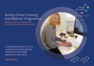Summer Term 2021 Training Programme