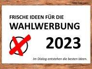 Wahlwerbeartikel 2021 werbemax