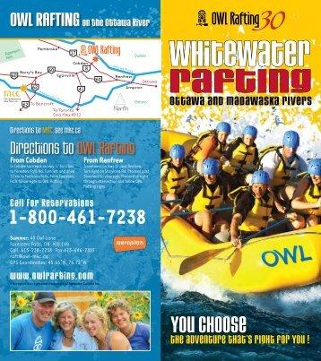 OttaWa RivER - OWL Rafting