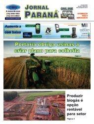 Jornal Paraná Fevereiro 2021
