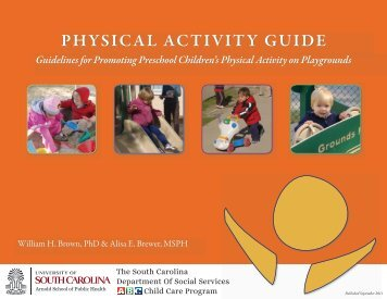 physical activity guide - The South Carolina ABC Child Care Program
