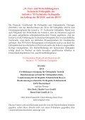 21. Fort- und W eiterbildungskurs Technische Orthopädie - Page 3