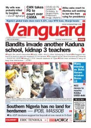 15032021 - Bandits invade another Kaduna school, kidnap 3 teachers