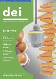 dei – Prozesstechnik für die Lebensmittelindustrie 02-03.2021