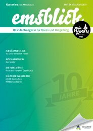 Emsblick Haren - Heft 61 (März/April 2021)