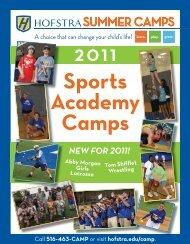 Sports Academy Camps - Hofstra University