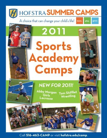 Sports Academy Camps - Hofstra University