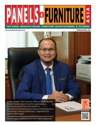 Panels & Furniture Asia March/April 2021