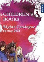 KOSMOS | CHILDREN'S BOOKS | Rights Catalogue Spring 2021