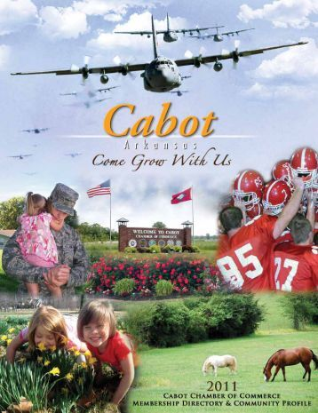 Cabot Chamber of Commerce 2011